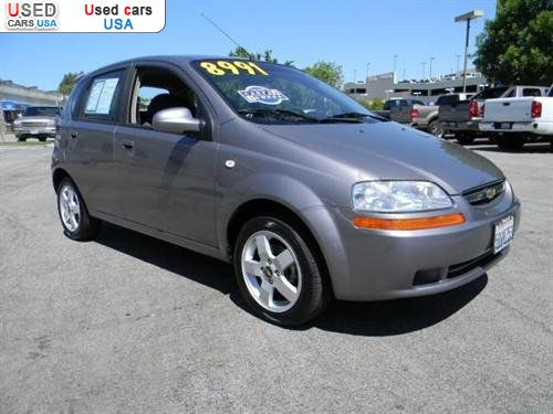 for sale 2006 passenger car chevrolet aveo lt valencia insurance rate quote price 8992 used. Black Bedroom Furniture Sets. Home Design Ideas