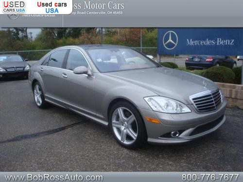 For sale 2009 passenger car mercedes s benz 5 5l v8 for Mercedes benz insurance cost