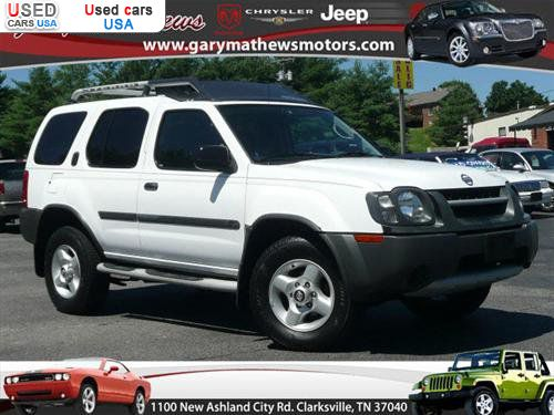 for sale 2002 passenger car nissan xterra clarksville insurance rate quote price 7995 used. Black Bedroom Furniture Sets. Home Design Ideas