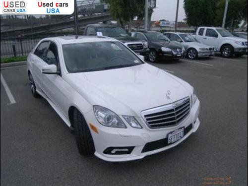 For sale 2010 passenger car mercedes e benz sport duarte for Mercedes benz at carmax