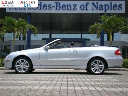For sale 2007 passenger car mercedes clk benz 3 5l for Mercedes benz insurance cost