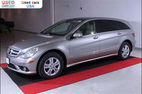 Car Market in USA - For Sale 2008  Mercedes R -Benz  3.5L