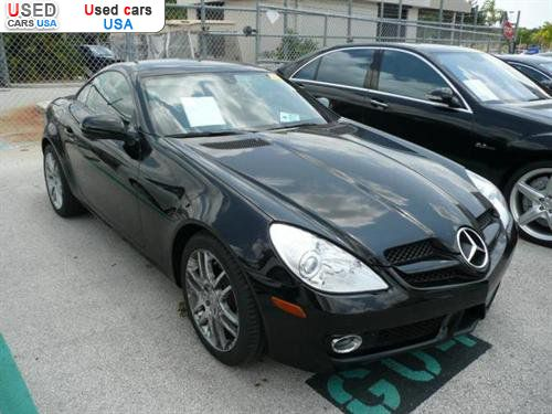 For sale 2009 passenger car mercedes slk benz 3 0l for Mercedes benz of pompano beach