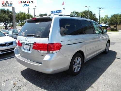 for sale 2010 passenger car honda odyssey touring. Black Bedroom Furniture Sets. Home Design Ideas