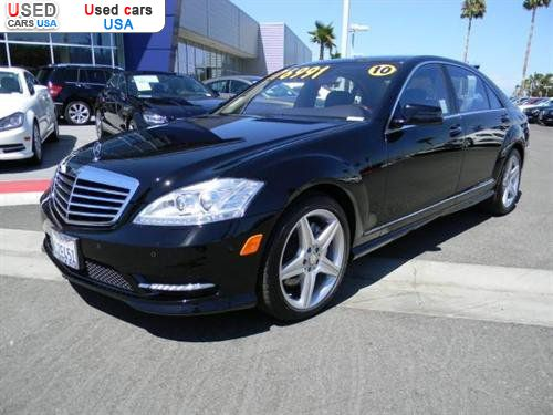 For sale 2010 passenger car mercedes s benz 5 5l v8 for Mercedes benz repair torrance ca