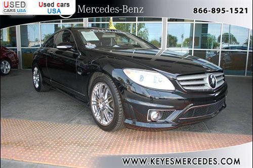 For sale 2008 passenger car mercedes cl benz v12 van for Mercedes benz insurance cost