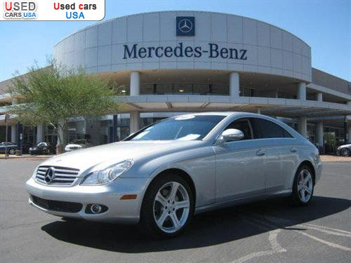 For sale 2007 passenger car mercedes cls benz 5 5l for Mercedes benz insurance cost