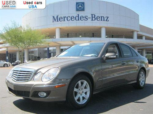 For sale 2008 passenger car mercedes e benz 3 0l phoenix for Mercedes benz insurance cost