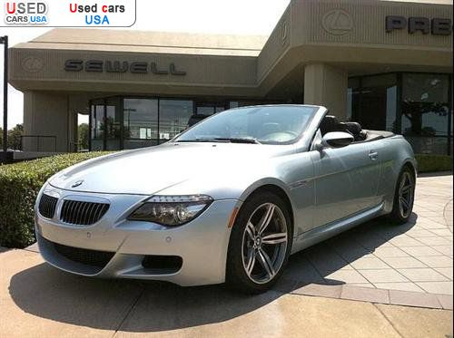for sale 2008 passenger car bmw m6 convertible dallas. Black Bedroom Furniture Sets. Home Design Ideas