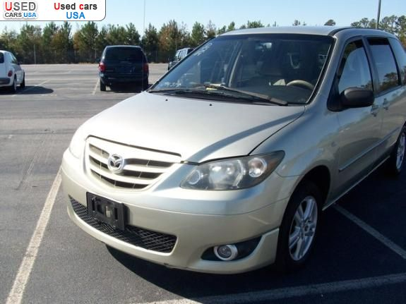 For Sale 2004 Passenger Car Mazda Mpv Lugoff Insurance
