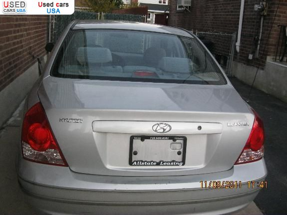 For Sale 2006 Passenger Car Hyundai Elantra Flushing