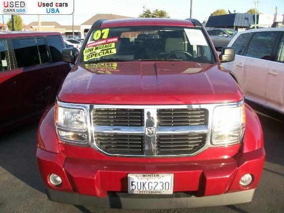 for sale 2007 passenger car dodge nitro modesto insurance rate quote price 16999 used cars. Black Bedroom Furniture Sets. Home Design Ideas