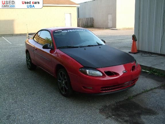 For Sale for 2500$ passenger car Ford ZX2 1998 used, Troy, insurance ...
