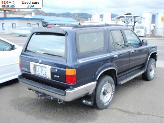 for sale 1995 passenger car toyota 4runner roseburg insurance rate quote price 5995 used cars. Black Bedroom Furniture Sets. Home Design Ideas
