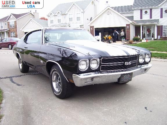 for sale 1970 passenger car chevrolet ss saint louis insurance rate quote price 39900 used. Black Bedroom Furniture Sets. Home Design Ideas