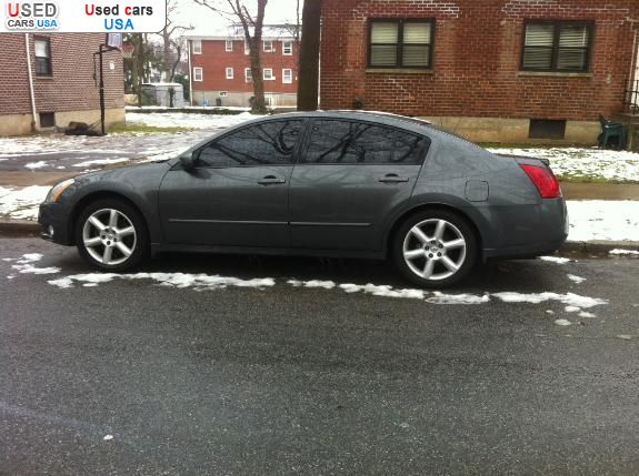 for sale 2006 passenger car nissan maxima staten island insurance rate quote price 13000. Black Bedroom Furniture Sets. Home Design Ideas