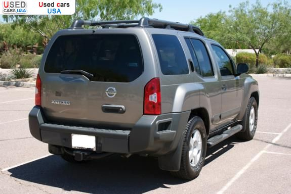 for sale 2005 passenger car nissan xterra scottsdale. Black Bedroom Furniture Sets. Home Design Ideas