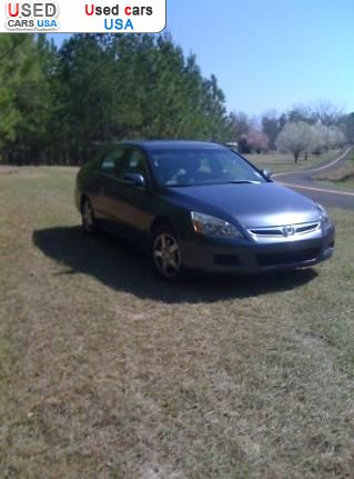 Car Market in USA - For Sale 2007  Honda Accord