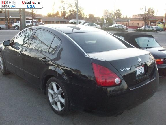 for sale 2005 passenger car nissan maxima san jose. Black Bedroom Furniture Sets. Home Design Ideas