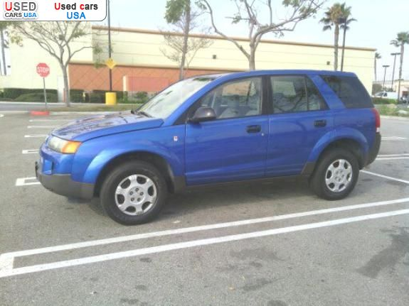 For sale 2003 passenger car saturn vue hawthorne insurance rate