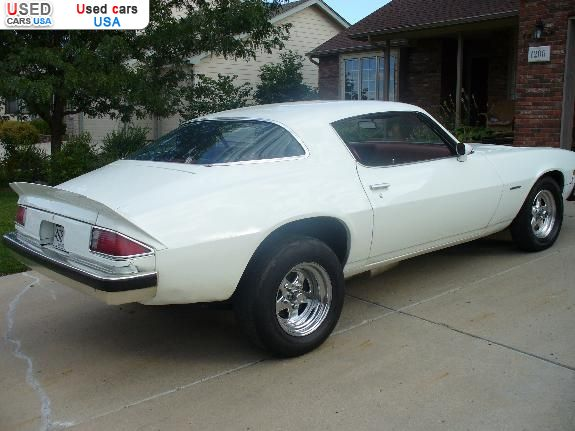 For Sale 1976 Passenger Car Chevrolet Camaro Johnstown