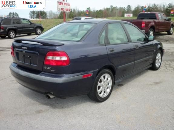 For Sale 2001 passenger car Volvo S40, Rainbow City, insurance rate quote, price 4700$. Used cars.