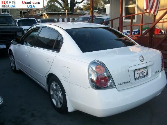 for sale 2002 passenger car nissan altima stockton insurance rate quote price 7999 used cars. Black Bedroom Furniture Sets. Home Design Ideas