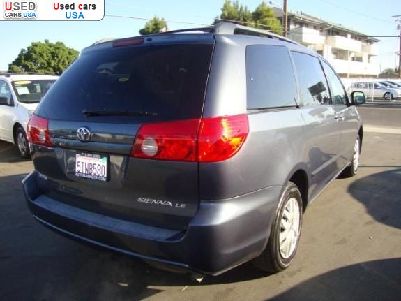 for sale 2006 bus minibus toyota sienna santa ana insurance rate quote price 15795 used cars. Black Bedroom Furniture Sets. Home Design Ideas