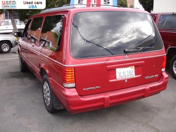 For Sale 1995 Passenger Car Plymouth Voyager Alameda