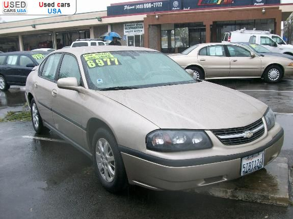 for sale 2005 passenger car chevrolet impala novato insurance rate quote price 6977 used cars. Black Bedroom Furniture Sets. Home Design Ideas
