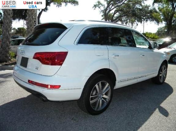 for sale 2011 passenger car audi q7 wheeling insurance rate quote price 47700 used cars. Black Bedroom Furniture Sets. Home Design Ideas