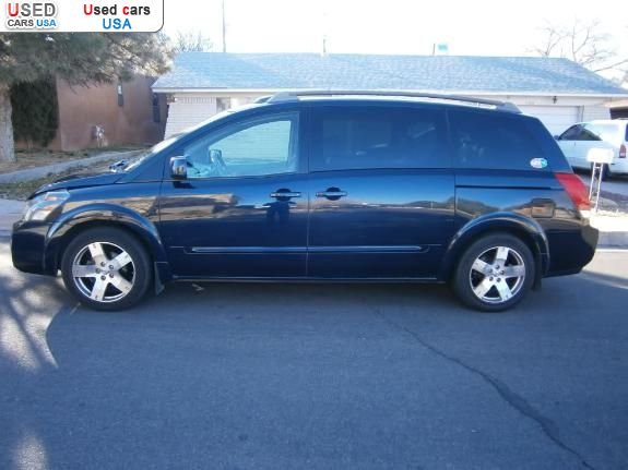 for sale 2006 passenger car nissan quest albuquerque insurance rate quote price 8900 used cars. Black Bedroom Furniture Sets. Home Design Ideas