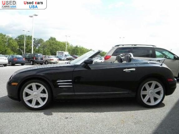for sale 2005 passenger car chrysler crossfire insurance rate quote price 17580 used cars. Black Bedroom Furniture Sets. Home Design Ideas