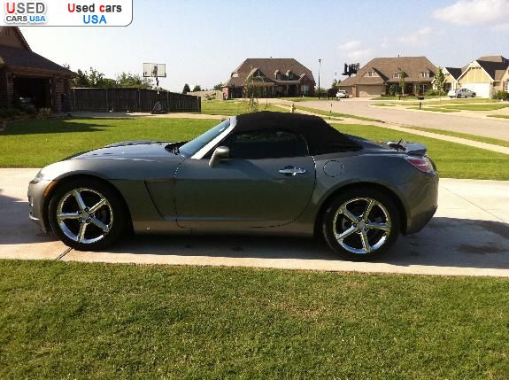 for sale 2007 passenger car saturn sky sapulpa insurance rate quote price 13995 used cars. Black Bedroom Furniture Sets. Home Design Ideas