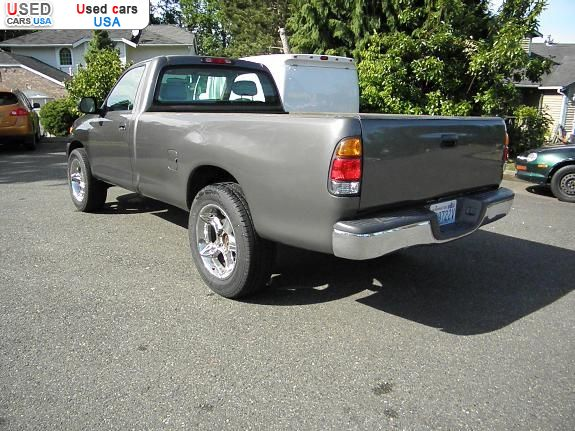 for sale 2003 passenger car toyota tundra federal way insurance rate quote price 6700 used. Black Bedroom Furniture Sets. Home Design Ideas
