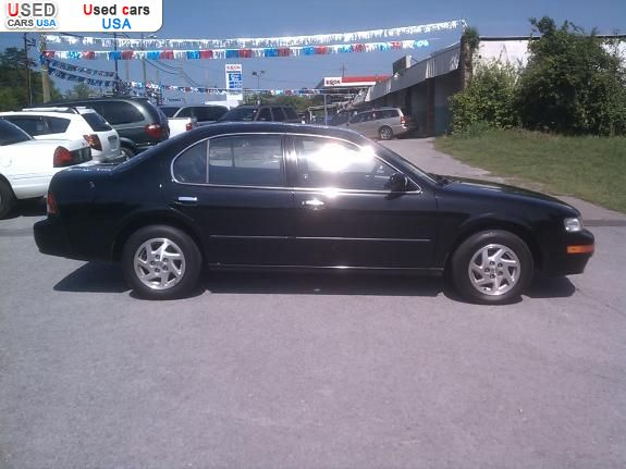 1999 Nissan Maxima Car For Sale: For Sale 1999 Passenger Car Nissan Maxima, Knoxville