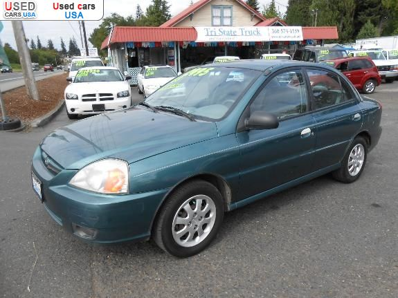 For Sale 2003 Passenger Car Kia Rio Vancouver Insurance