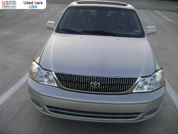Used Tires Akron Ohio >> For Sale 2000 passenger car Toyota Avalon, Grand Prairie ...