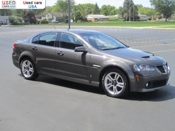 for sale 2009 passenger car pontiac g8 insurance rate quote price 19600 used cars. Black Bedroom Furniture Sets. Home Design Ideas