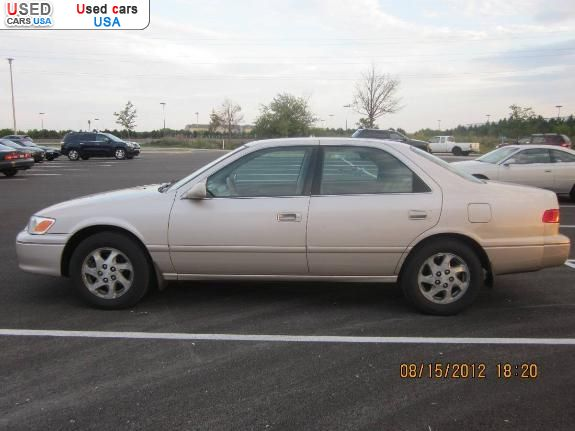 Used Toyota Camry For Sale Near Me >> For Sale 2000 passenger car Toyota Camry, Naperville ...