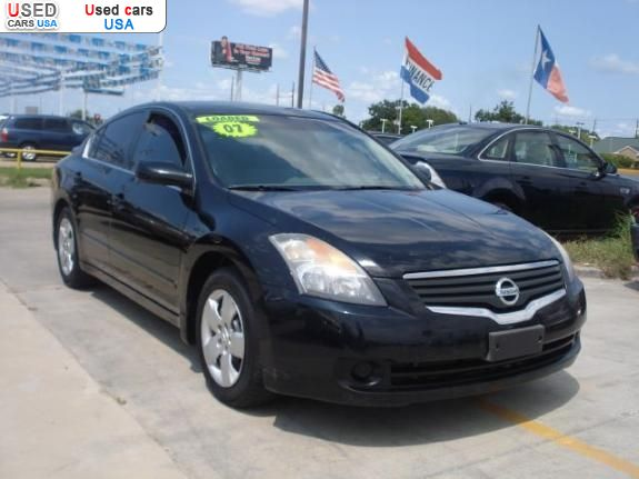 for sale 2007 passenger car nissan altima houston insurance rate quote price 11999 used cars. Black Bedroom Furniture Sets. Home Design Ideas
