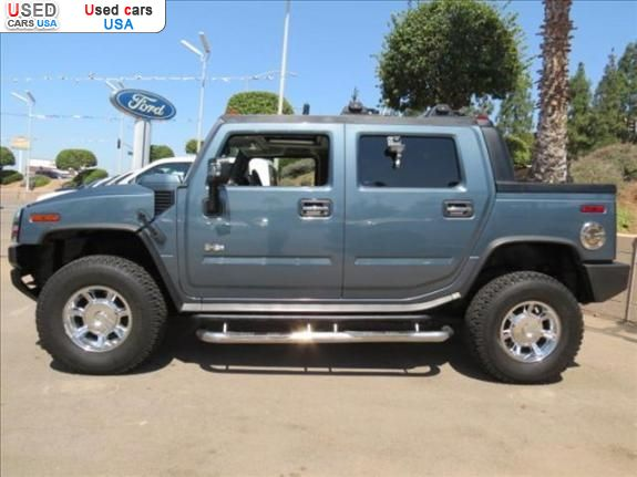 for sale 2006 passenger car hummer h2 el cajon insurance rate quote price 29888 used cars. Black Bedroom Furniture Sets. Home Design Ideas