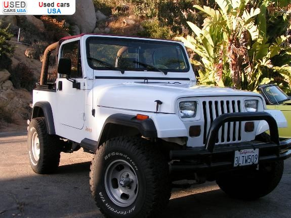 For Sale 1995 Passenger Car Jeep Rio Fallbrook Insurance