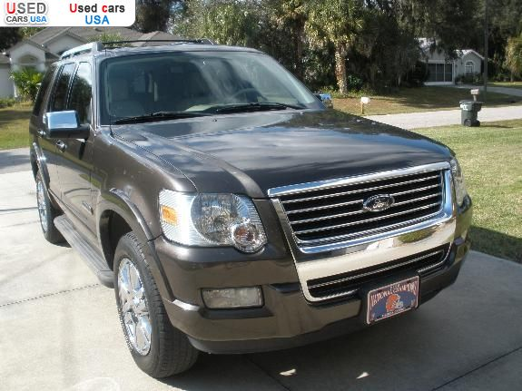 for sale 2006 passenger car ford explorer north port. Black Bedroom Furniture Sets. Home Design Ideas