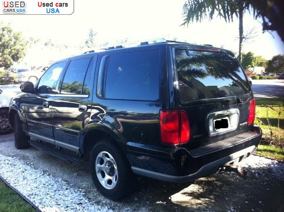 for sale 2000 passenger car lincoln navigator miami beach insurance rate quote price 2700. Black Bedroom Furniture Sets. Home Design Ideas