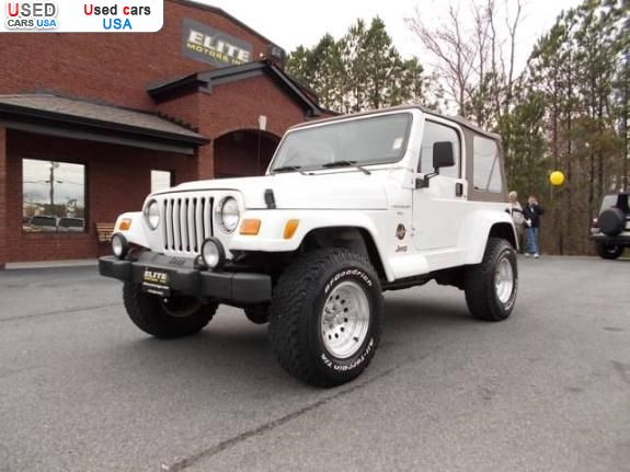 for sale 2000 passenger car jeep wrangler cartersville insurance rate quote price 11900. Black Bedroom Furniture Sets. Home Design Ideas