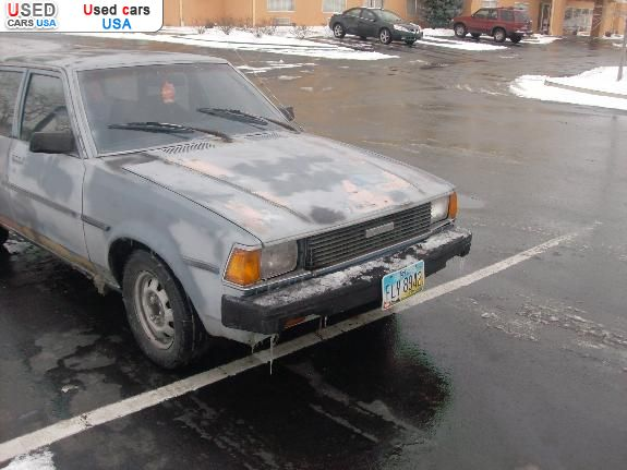 Car Market in USA - For Sale 1982  Toyota Corolla