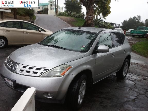 for sale 2004 passenger car nissan murano topanga insurance rate quote price 7000 used cars. Black Bedroom Furniture Sets. Home Design Ideas