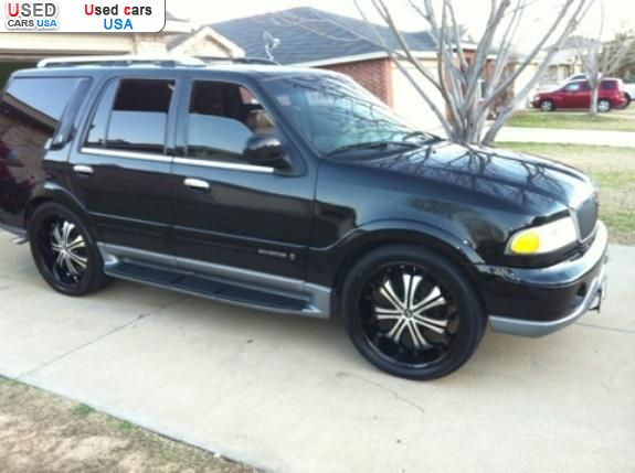 for sale 2000 passenger car lincoln navigator fort worth insurance rate quote price 6000. Black Bedroom Furniture Sets. Home Design Ideas
