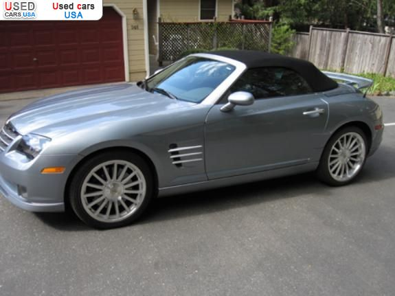 for sale 2005 passenger car chrysler crossfire nevada city insurance rate quote price 21000. Black Bedroom Furniture Sets. Home Design Ideas